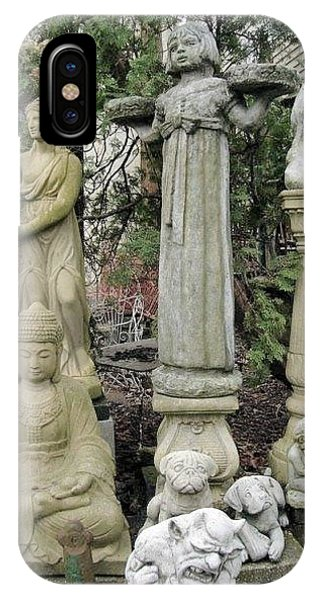 In The Cement Garden 9 Phone Case by Vickie G Buccini