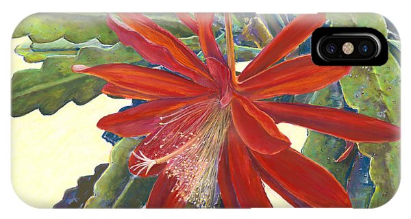In The Conservatory - 1st Center - Red IPhone Case