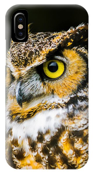 In The Eyes IPhone Case