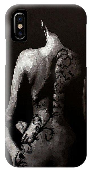 Allison iPhone Case - In The Flesh X by Alison Schmidt Carson