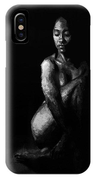 Allison iPhone Case - In The Flesh Xi by Alison Schmidt Carson