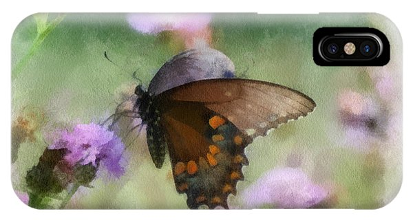 In The Flowers IPhone Case