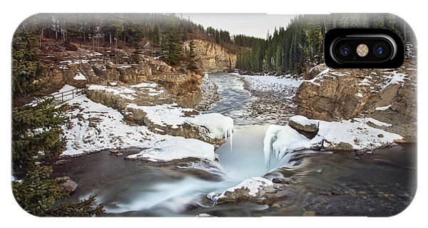 Banff iPhone Case - In The Frosty Forests by Evelina Kremsdorf