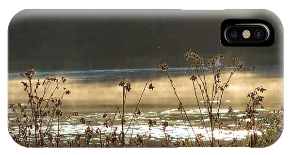 In The Golden Light IPhone Case