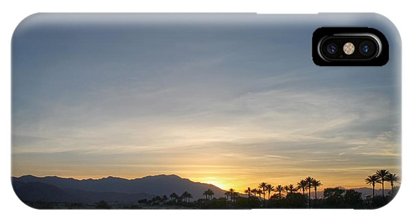 City Sunset iPhone Case - In The Grand Scheme Of Things by Laurie Search