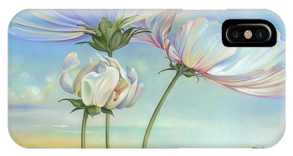 In The Half-shadow Of Wild Flowers IPhone Case