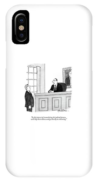 In The Interest Of Streamlining The Judicial IPhone Case
