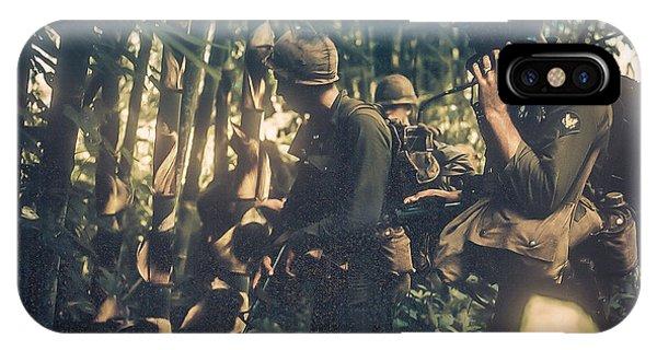 In The Jungle - Vietnam IPhone Case