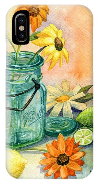 Lid iPhone Case - In The Lime Light by Marilyn Smith