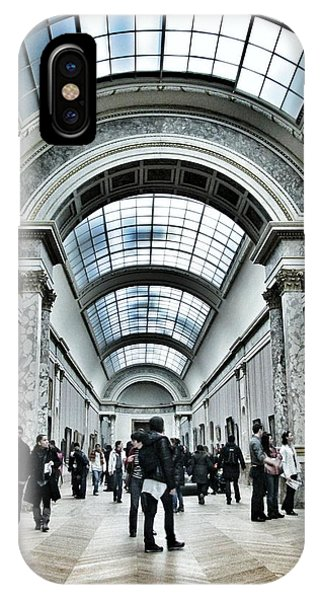 The Louvre iPhone Case - In The Louvre  by Marianna Mills