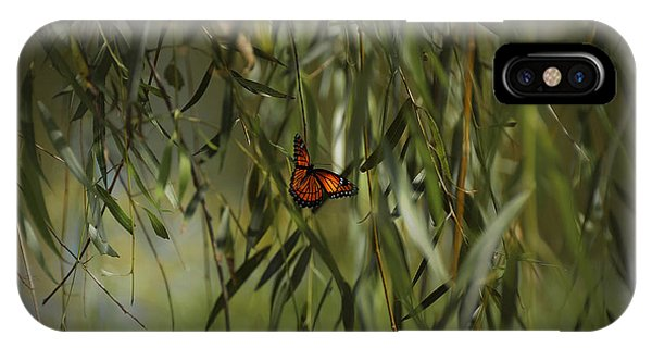in the memory of Papillon IPhone Case