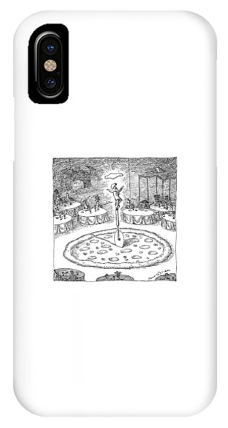 In The Middle Of A Restaurant IPhone Case