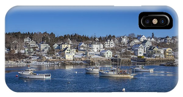 New England Coast iPhone Case - In The Morning Light by Evelina Kremsdorf