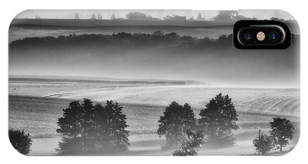 Morning Mist iPhone Case - In The Morning by Piotr Krol (bax)