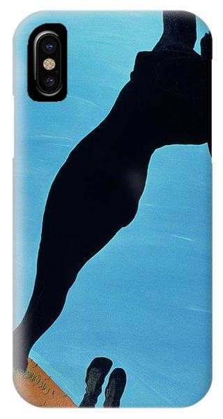 Barren iPhone Case - In The Public Eye, 1998 by Marjorie Weiss