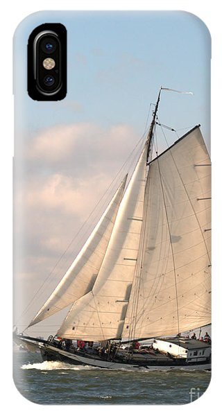 In The Race IPhone Case