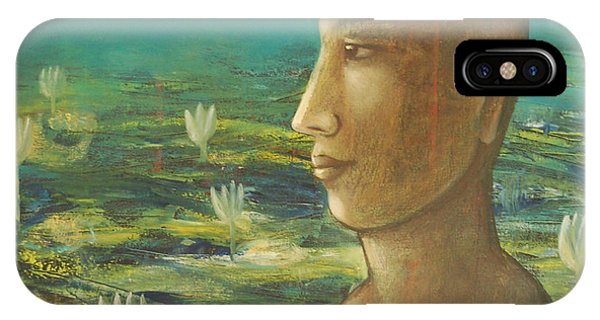 In The Realm Of Buddha IPhone Case