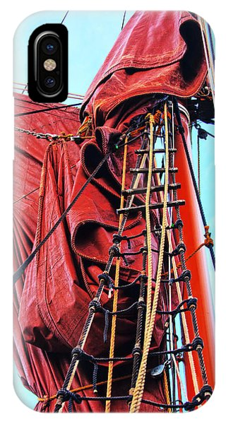 In The Rigging IPhone Case
