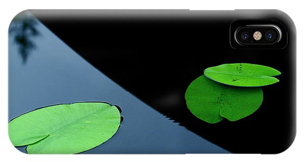 Shadows iPhone Case - In The Shade Off A Boat by Allan Wallberg