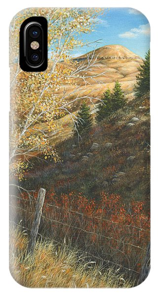 Belt Butte Autumn IPhone Case