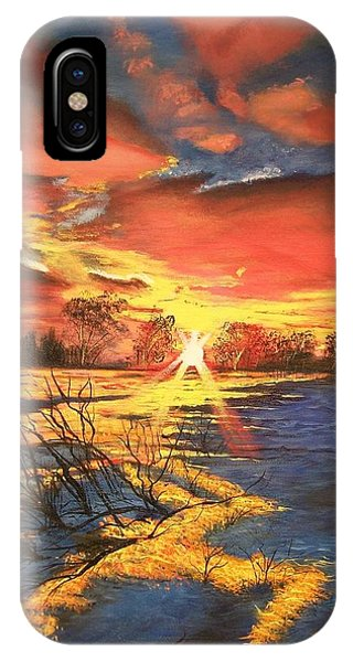 In The Still Of Dawn-2 IPhone Case