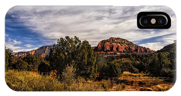 IPhone Case featuring the photograph In The Valley Below by Mark Myhaver