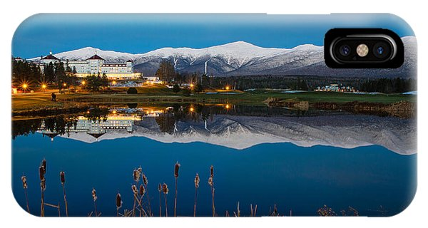 In The White Mountains IPhone Case