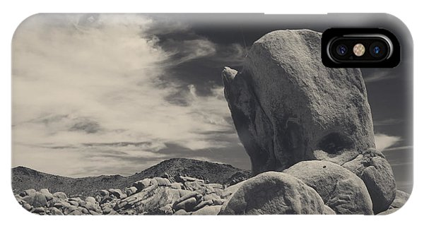 Split Rock iPhone Case - In This Strange Land by Laurie Search