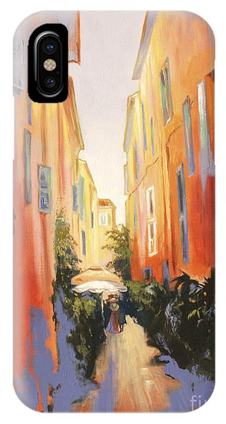 In Town Of Saint Tropez IPhone Case