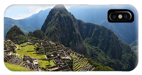 Inca City Machu Picchu IPhone Case