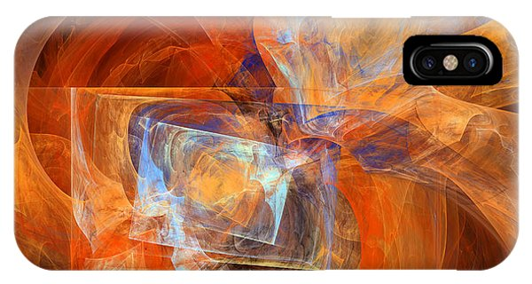 Incendiary Ammunition Abstract IPhone Case
