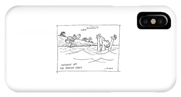 Incident Off The Spanish Coast IPhone Case
