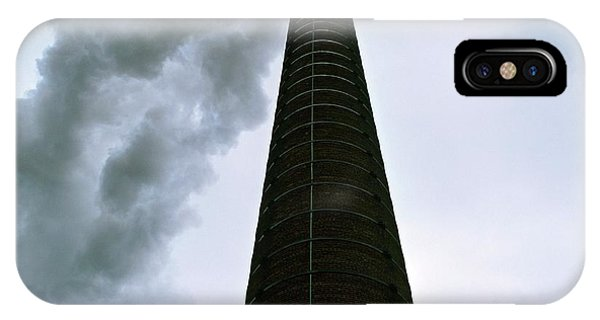 Incinerator Chimney Phone Case by Robert Brook/science Photo Library