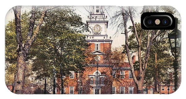 Independence Hall 1900 IPhone Case