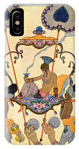 Representation iPhone Case - India by Georges Barbier