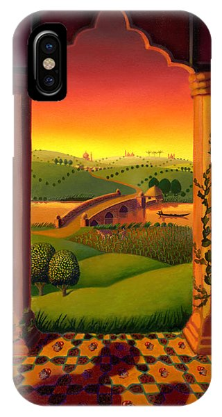 Temple iPhone Case - India Landscape by Robin Moline