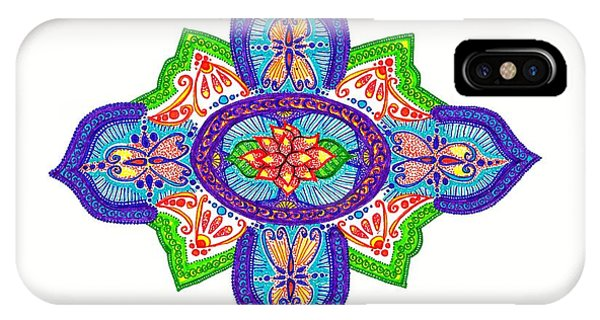 India Silk Phone Case by Marie Parker