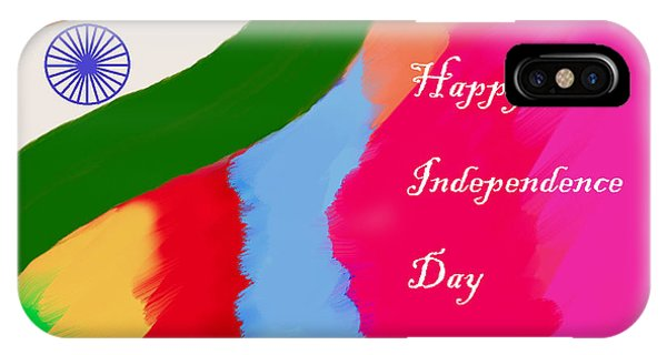 Indian Independence Day IPhone Case