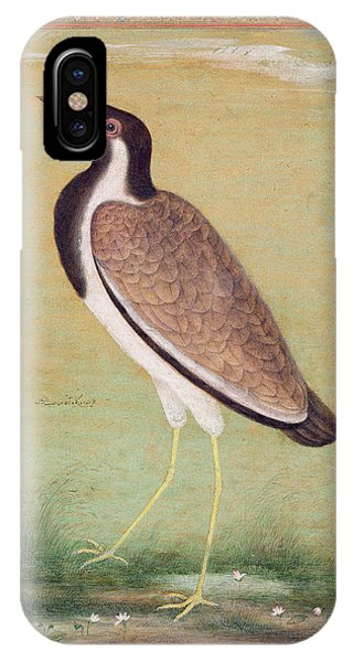 Indian Lapwing IPhone Case