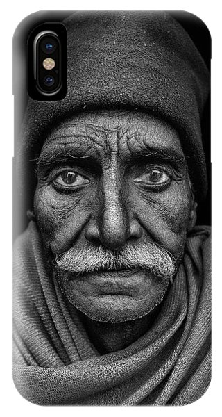 Asia iPhone Case - Indian Man by Haitham Al Farsi