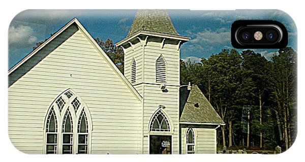Indian Mission United Methodist Church Harbeson Delaware IPhone Case
