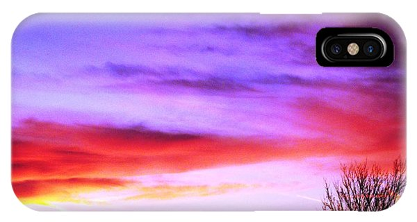 Indian Morning Sky IPhone Case