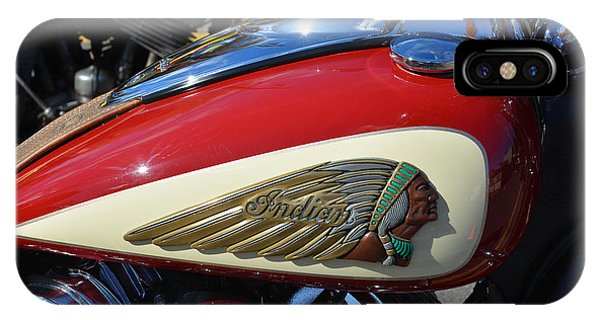 Indian Motorcycle Gas Tank IPhone Case