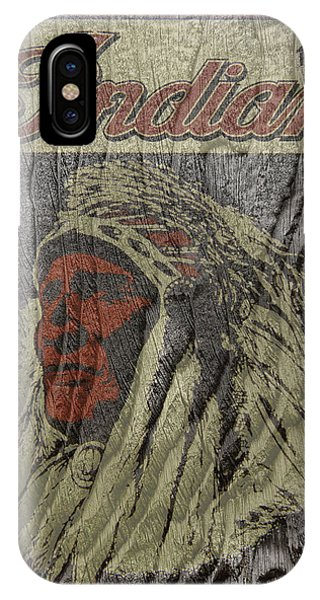 Indian Motorcycle Postertextured IPhone Case