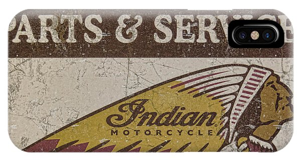 Indian Motorcycle Sign IPhone Case