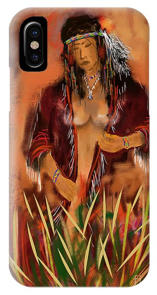 Indian Nude IPhone Case