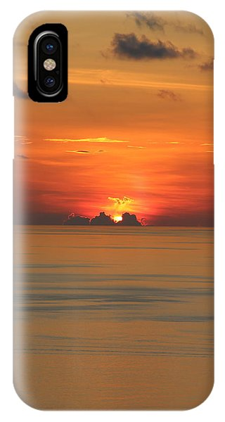 IPhone Case featuring the photograph Indian Ocean Sunset  by Debbie Cundy