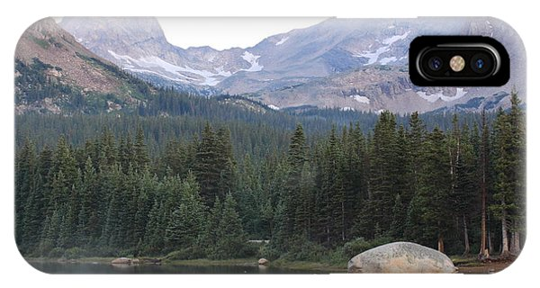 Indian Peaks Wilderness iPhone Case - Indian Peaks by Eric Glaser