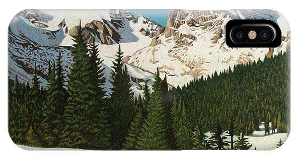 Indian Peaks Winter IPhone Case