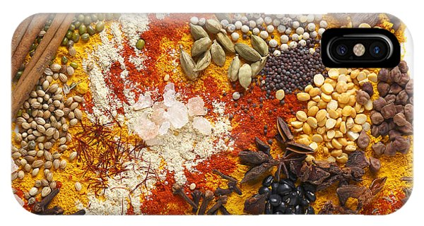 Indian Pulses And Spices IPhone Case